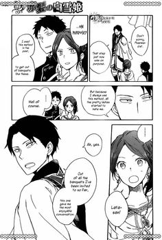 "Akagami no shirayuki hime "" Snow White with the red hair "" Manga"