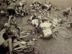 Paris roubaix accident  classic