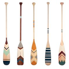Canoe paddles by Ropes and Wood www.ropesandwood.com