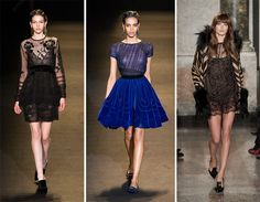 Fall/ Winter 2013-2014 Fashion Trends  #lace #fashion #trends #fashiontrends #fall2013trends