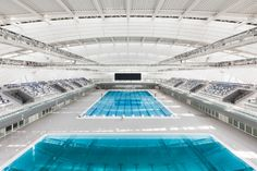 Die Schwimmhalle des Shanghai Oriental Sports Center ist 210 Meter lang. (Foto: Shanghai Oriental Sports Center)
