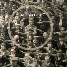 August Landmesser, Hamburg shipyard worker who refused to make Nazi salute - photo links to story