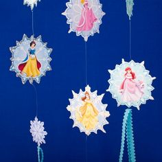 Forget fancy chandeliers -- this mobile features the Disney Princesses and will make a fine addition to your castle.