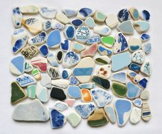 English Beach Finds - Pottery Pieces -Lot DC500