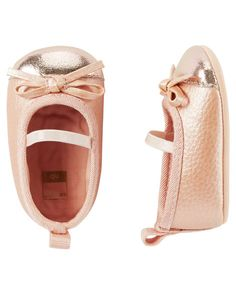 Carter's Ballet Mary Jane Crib Shoes