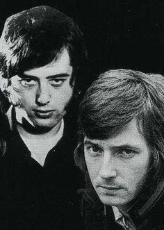 Jimmy Page and Eric Clapton. http://www.pinterest.com/jr88rules/eric-clapton/ #EricClapton