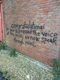 Graffiti is real free speech. Graffiti Quotes, Fotos Do Instagram, Quote Aesthetic, Aesthetic Grunge, Pretty Words, Affirmations, Street Art Graffiti, Wise Words, Decir No