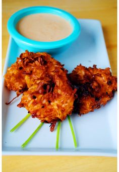 Baked Pecan & Coconut Shrimp with Spicy Pineapple Sauce | Coconut ...