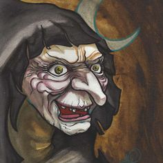 Hecate, crone witch