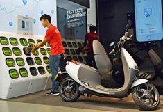 Taïwan : des milliers de stations de charge pour scooters électriques