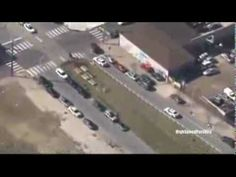 Police Chase Stolen Cop Car In Philadelphia (Raw Video)