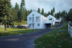 Wooden houses in Norway on Behance