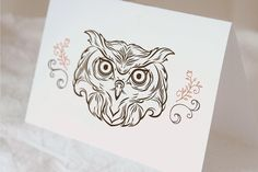 Portrait of an owl, bear and siberian tiger by ISKRArt on Etsy