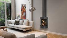 De #Bellfires Free Bell vrijstaande moderne #gashaard. #Gaskachel #Kampen #Interieur #Fireplace #Fireplaces