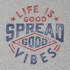 Men's Spread Good Vibes Go-To Pullover Hoodie