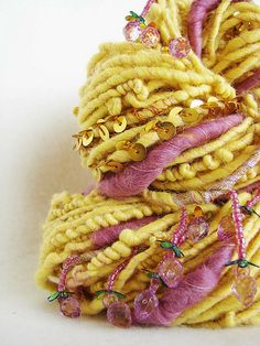 Handspun Art Yarn -