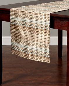 """Bodrum """"Water"""" Tablecloth is on Rue. Shop it now."""