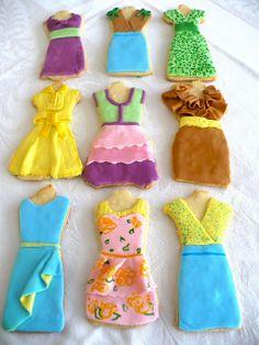Summer dresses Sugar Cookies