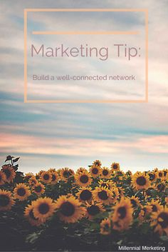 "Here's a tip for you! Think about ""Who is in my network?"" ""Am I connecting with them on social media?"" ""How can I expand and improve my current network?"" #SucessfulMarketer #Stephanie #Thursday"