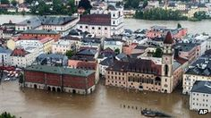 BBC: June 2nd German cities of Passau & Rosenheim have declared a state of emergency. Authorities in Passau, which lies at the confluence of three rivers in Bavaria, say they expect the Danube to reach 10.5m by Sunday evening & have requested help from the German army. Towns and cities in Saxony, Thuringia & Baden-Wuerttemberg are also inundated. The Munich-based newspaper Sueddeutsche Zeitung reports the German army deployed in Bavaria, Saxony & Thuringia to support the flood-affected…