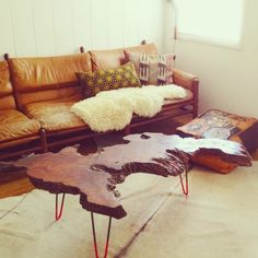 rough edge wood table