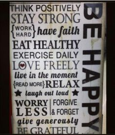 Just Be #Free and Happy