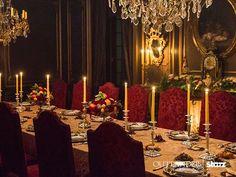 Outlander set design dining room