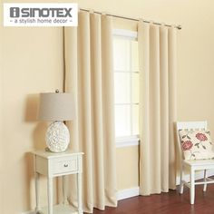 Window Curtain For Living Room Drawing Bedroom Modern Drapes Solid Loops Cortinas Cotton&Polyester 1PCS/Lot