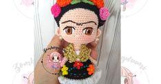 Amigurumis. Muñecos de colección tejidos a crochet. Personajes, Diseño de patrones, patrones gratis. Knitted Dolls, Crochet Dolls, Crochet Yarn, Crochet Flowers, Hand Crochet, Crochet Bookmark Pattern, Crochet Bookmarks, Crochet Animal Patterns, Stuffed Animal Patterns