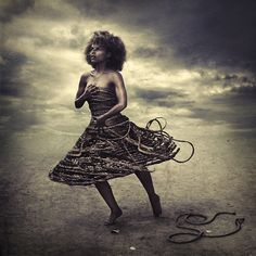 rope that binds can also fall - Brooke Shaden Photography Career, Fantasy Photography, Fashion Photography, Foto Art, Beautiful Dream, Art And Technology, New Things To Learn, Perfect Body, Photo Manipulation
