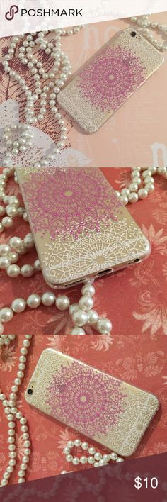 ❗️SALE❗️BOHO HENNA IPHONE 6 CASE NEW CUTE ❗️SALE❗️BOHO HENNA IPHONE 6 CASE NEW CUTE.  SOFT SILICONE MATERIAL GOOD PROTECTION SUPER CUTE Accessories Phone Cases