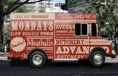 Avedano's Meats by Jessica Giboin, via Behance