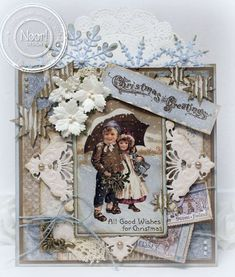 Vintage Frost - Christmas Greetings