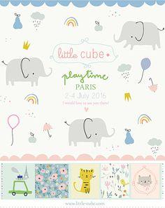 flyer playtime paris - Little Cube - Design & Illustration for Children