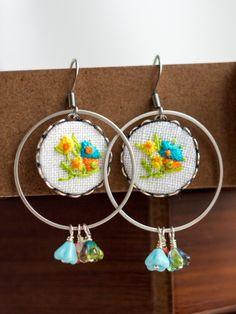 romantic earring for Spring