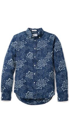 Indigo Oxford Shirt by Gant Rugger