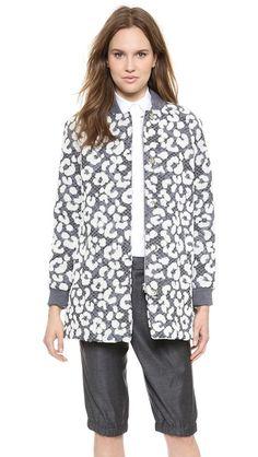 Thakoon animal print jacket (for more animal prints -- http://chicityfashion.com/animal-prints/)