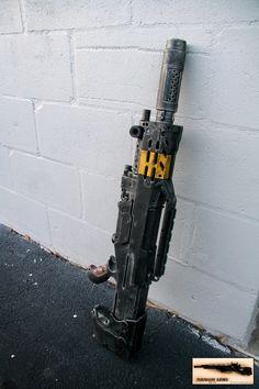 Tactical Style NERF LongShot. $275.00, via Etsy.