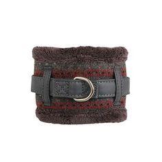 Gray Twilight Neckguard Dog Collar by Pinkaholic