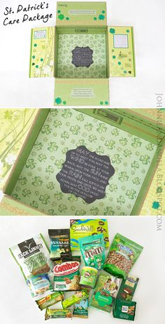 St. Patrick's Day Care Package #MilitaryCarePackage #Deployment