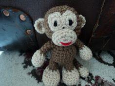 Amigurumitogo Little Bigfoot Monkey : Gnomes, Full of and House on Pinterest