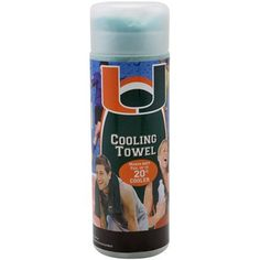 Miami Hurricanes Cooling Towel - Green