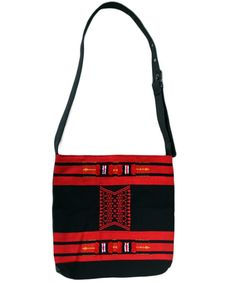 Men's Handwoven and leather  bag