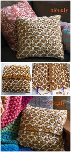 Sunshine Lattice Crochet Pillow Free Crochet Pillow Patterns To Brighten Up Your Home