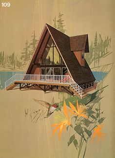 Great Ideas for Second Homes: A Portfolio of 20 Distinguished New Designs in Plywood, published by the American Plywood Association in 1969....