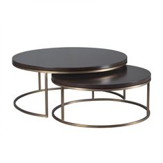 Kanta Cocktail Sofabord - Sett av 2 Decor, Furniture, Home Decor Styles, Living Room Kitchen, Nesting Tables, Marble Top Coffee Table, Table, Tea Table, Coffee Table