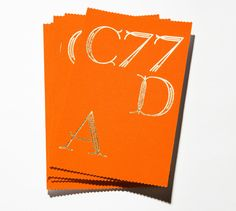 Core77 Design Awards Invites and Posters by Studio Lin, via Behance