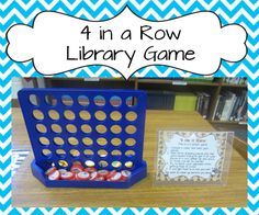 Classroom Freebies: Fun 4 in A Row Game Freebie