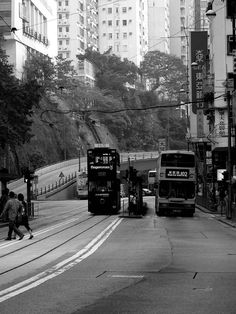 Trams and double-deckers, Hongkong