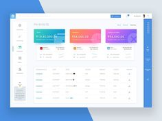 Dashboard Payment designed by Avinash Tripathi. Connect with them on Dribbble; the global community for designers and creative professionals. Dashboard Interface, Web Dashboard, Dashboard Design, User Interface Design, Web Responsive, Ui Web, Graphisches Design, App Ui Design, 2020 Design